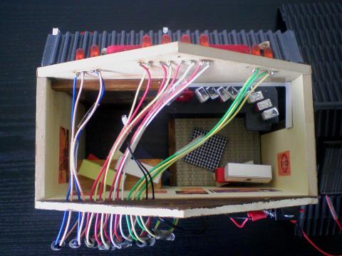 ソーラー発電ハウス模型 - 7